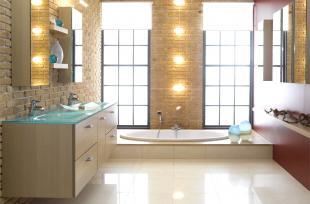 Cách chọn màu sắc để tạo nguồn năng lượng mới cho phòng tắm