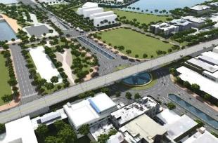 Dự kiến chi trên 550 tỷ đồng làm nút giao 3 tầng cạnh sông Hàn