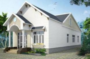 Tư vấn thiết kế nhà cấp 4 mái Thái 3 phòng ngủ trên diện tích 100m2