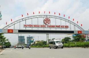 Hà Nội duyệt quy hoạch trung tâm thị trấn Trạm Trôi, huyện Hoài Đức