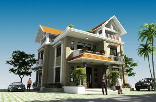 Thiết kế biệt thự 2 tầng phong cách tân cổ điển cho gia đình 6 người