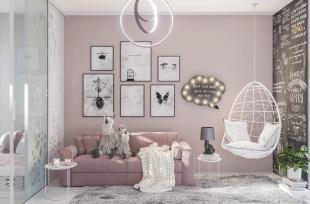 9 mẫu phòng ngủ bé gái có thiết kế độc đáo với sắc hồng - trắng ngọt ngào