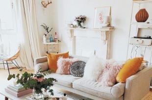 Phòng khách màu be sáng đẹp hơn với 10 ý tưởng đơn giản