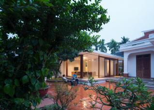 Không gian sống bình yên trong ngôi nhà vườn bưởi ở Hưng Yên