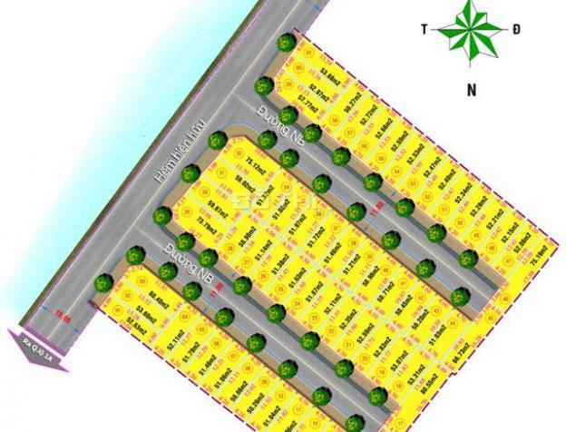 Bán 61 lô đất An Phú Đông, Q. 12, giá 17tr/m2, (850 tr/lô 50m2) đường nhựa 11m, điện âm, nước máy 7018865