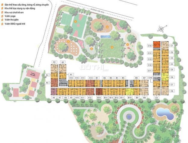 Bán căn hộ chung cư tại dự án 9 View Apartment, Quận 9, Hồ Chí Minh diện tích 58.1m2 giá 960 triệu 7132670