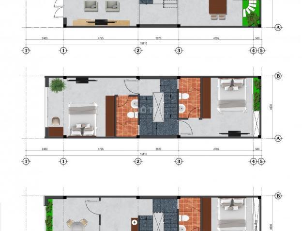 Nhà phố Happy Home ngay KDC Villa Park tại quận 9, nhà 3 tấm, 2,2 tỷ/172 m2, sân thượng 7197938
