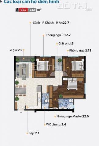 Căn hộ cao cấp Carillon 5, cách Đầm Sen 400m, còn 6 căn cuối cùng, đầu tư tốt, Qúy II/2018 nhận nhà 7249826