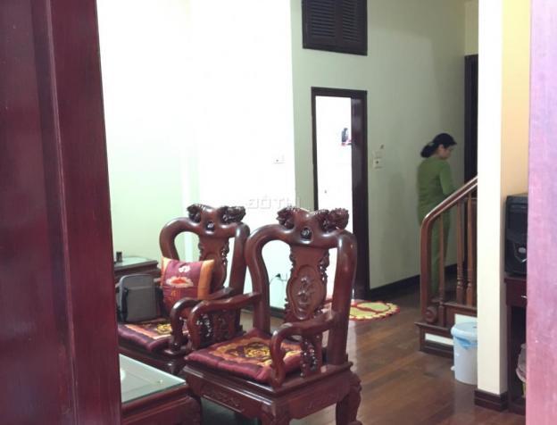 Bán nhà ngõ 5 Hoàng Quốc Việt, Cầu Giấy, DT 75m2 x 4 tầng, lô góc, cách phố 30m, giá 5,9 tỷ 7602006