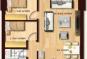 Bán chung cư TSQ Hà Đông, diện tích 75m2, Tòa T2, giá 2.1 tỷ