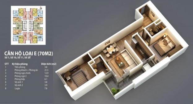 Căn hộ chung cư cao cấp Landmark Tower, chỉ 1,2 tỉ/căn. Hỗ trợ VAT ngân hàng 80% giá trị căn hộ 3641740