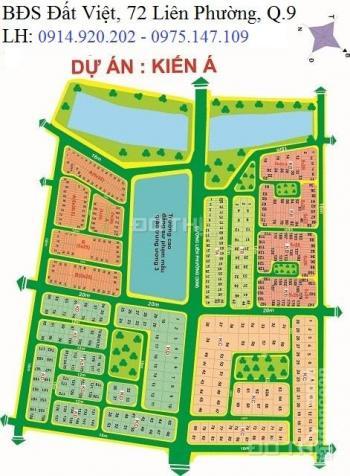 Bán đất nền KDC Kiến Á Phước Long B, Quận 9, cần bán lô A, diện tích 138m2 giá 40,5 tr/m2 6203712