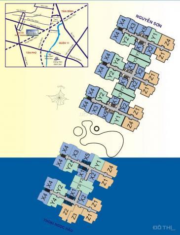 Bán căn hộ 60m2 CC Phú Thạnh, nhận nhà ở ngay, tặng NT cao cấp, có Big C, hồ bơi 7363509