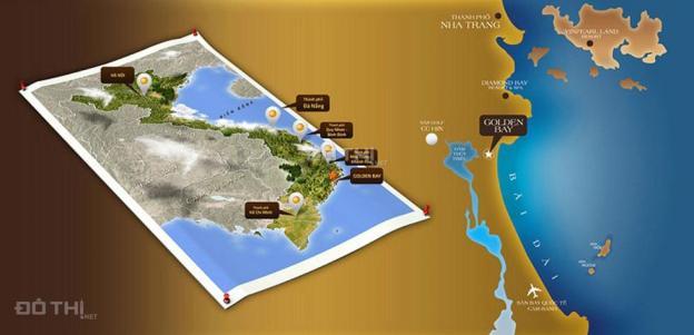 Chính chủ bán đất nền Golden Bay Bãi Dài, Cam Ranh D16-10-19 ngay quảng trường.LH:0938984442 9281569