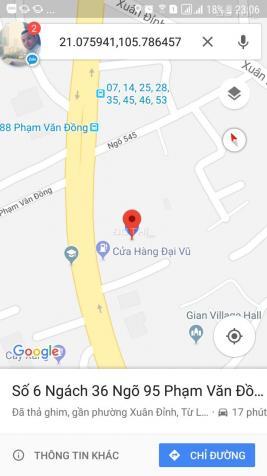 Chính chủ bán gấp nhà số 6 ngõ 95/36 Phạm Văn Đồng, 61m2, 3 tầng chỉ 2.8 tỷ, LH 0906238906 11267556