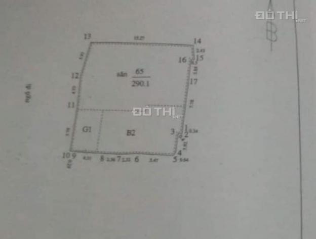 Bán gấp đất đường Trương Định, DT 290m2, giá 13 tỷ. LH 0971104355, đầu tư chia lô 12110729