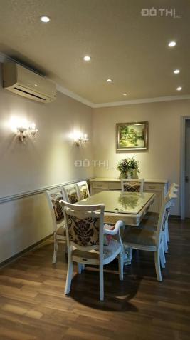 Cho thuê căn hộ rộng nhất tòa Discovery 302 Cầu Giấy, 155m2, 4 PN đủ đồ, ban công view hồ Nghĩa Tân 11939249