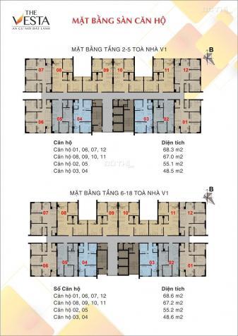 Bán chung cư Hà Đông, Hà Nội, diện tích 48m2, giá 678 triệu, LH 0911237588 12390250