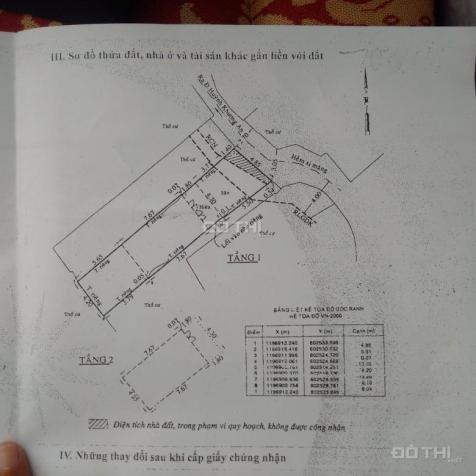 Bán nhà Huỳnh Khương An, Nguyễn Văn Nghi, Phường 7, Gò Vấp, DT thực 90m2, 4.79 tỷ 12495922
