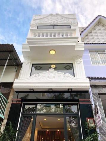 Bán nhà đẹp lung linh ngay chợ Phú Thuận, Quận 7, DT 4x14m, 3 tầng, giá 5.9 tỷ 12566594