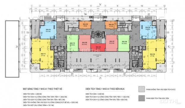 Mở bán shophouse khối đế Ciputra, DT chia nhỏ đa dạng, giá từ 36 tr/m2, kinh doanh tốt 12585463