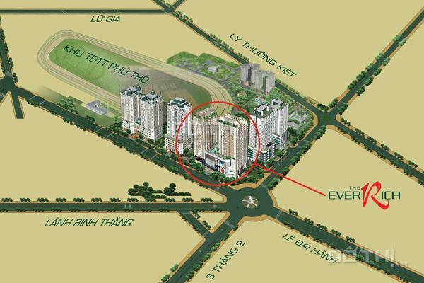 Bán penthouse cao cấp tại Everrich Quận 11, DT 275m2, full nội thất, gió tự nhiên, view đẹp, có sổ 12593073