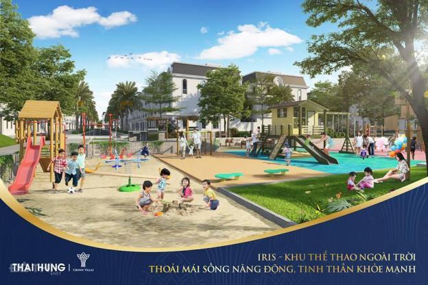 Mở bán chính thức - quỹ căn - bảng giá KĐT Crown Villas Thái Hưng. LH: 0943189444 12595478