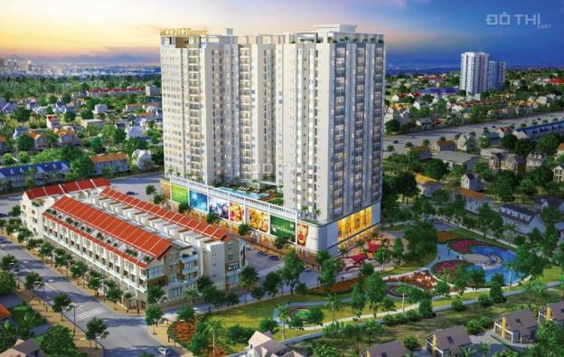 Cần tiền bán gấp căn hộ chung cư Moonlight Thủ Đức mặt tiền Đặng Văn Bi, 68m2, 2 tỷ 12636258