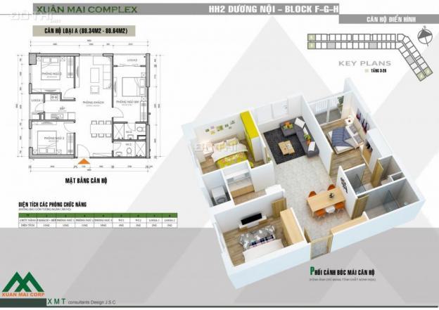 Giá nào cũng bán cắt lỗ căn hộ 80m2, 3pn, lô góc đẹp tầng trung, liên hệ ngay 0973671392 12662340