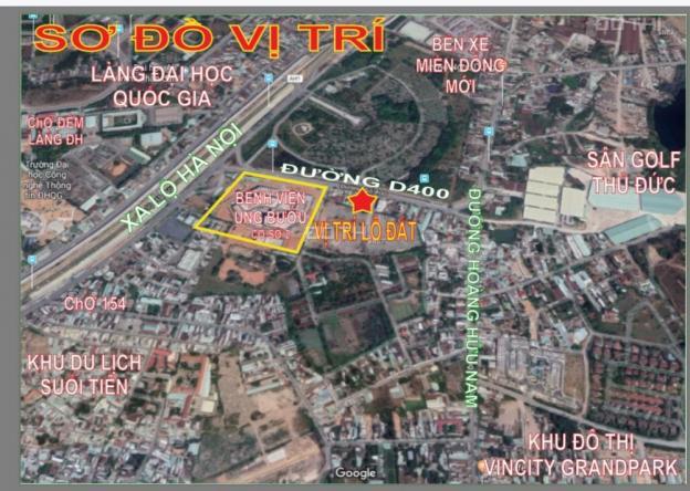 Bán đất MT kinh doanh bệnh viện Ung Bướu, đường 400 Hoàng Hữu Nam - Phường Tân Phú - Q. 9 12533458