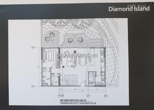 Căn Garden Villa Diamond Island Quận 2, nhà thô, tầng G, tháp Bora Bora, 228m2 12691585