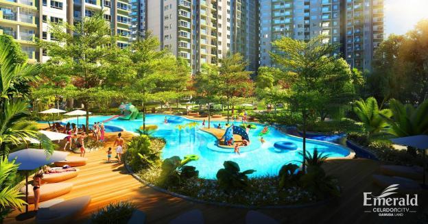 Cần bán gấp căn hộ 84m2, Emerald, Celadon, view đại lộ Gamuda, 2020 nhận nhà, LH chủ: 0888143993 12703094