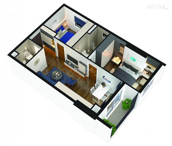 Bán căn hộ chung cư tại Dự án Thăng Long Capital, Hoài Đức, Hà Nội diện tích 61m2, giá 1,1 tỷ 12704600