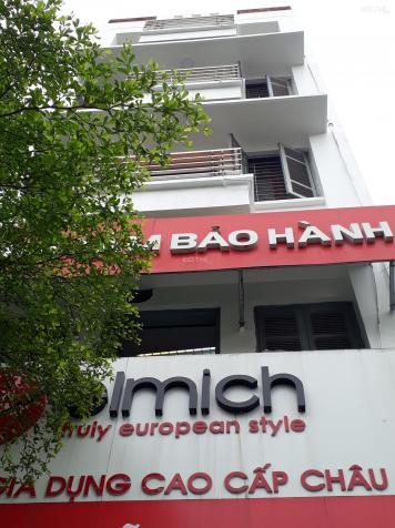 Bán nhà 5.5 tầng, mặt phố Nguyễn Lương Bằng, DT 83m2. Giá 26.3 tỷ, SĐT: 0985.411.988 12716437