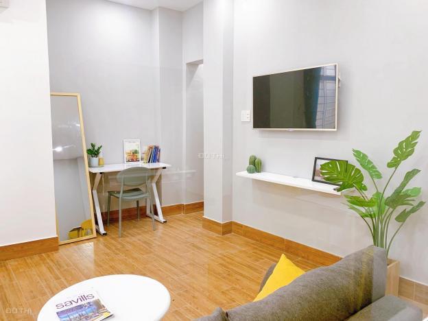 Cho thuê căn hộ cao cấp quận Bình Thạnh, full nội thất, 1 PN, bếp, 1 WC, đường Huỳnh Mẫn Đạt 12727383