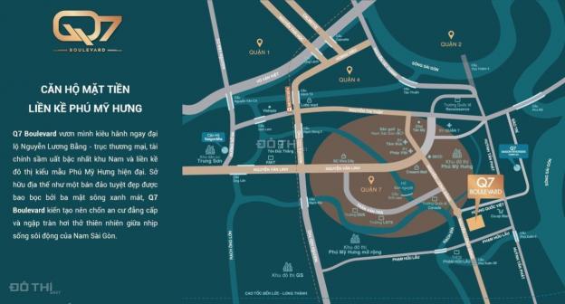 Siêu phẩm CH cao cấp Q7 Boulevard, liền kề Phú Mỹ Hưng, CK: 3 - 18%, 2020 nhận nhà. LH: 0936829839 12777664