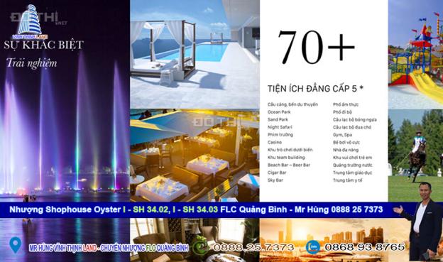 Cần bán 2 shophouse Oyter I-SH 34.02 & 34.03A, dự án FLC Quảng Bình 12787120