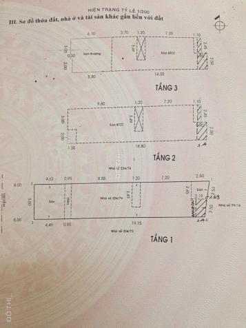 Bán nhà mặt tiền nội bộ Võ Công Tồn, 5mx25m, giá: 12 tỷ, P. Tân Quý, Q. Tân Phú 12794747