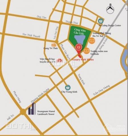 Bán sàn thương mại vip tầng 1 chung cư 2 mặt tiền công viên Cầu Giấy - LH: 0981792266 12797870