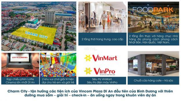 Bán căn hộ chung cư tại dự án Charm City, Dĩ An, Bình Dương, diện tích 55m2, giá 1,2 tỷ 12803825