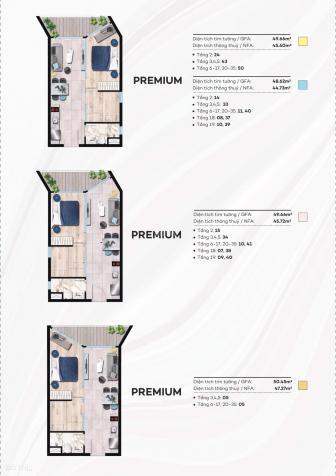 Căn hộ The Sóng ngay Bãi Sau Vũng Tàu, mở bán đợt 1, giá chỉ 1,6 tỷ/căn - Thanh toán 28 tháng 12809290
