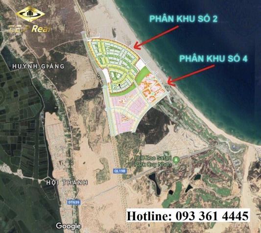 Nhận đặt chỗ vị trí mặt biển phân khu 2 - Nhơn Hội New City - Lh 093524000 12810589