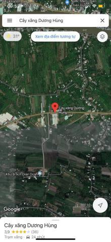 Bán hơn 5 công đất ( sau lưng cây xăng Dương Hùng QL 61C ) có 1300m2 thổ cư , giá chỉ 1tr2/1m2  12832428