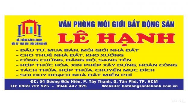 Bán nhà MTKD Đường D9, Tây Thạnh, Tân Phú. Giá 13 tỷ (thương lượng) - Diện tích: 4m x 25m 12872796