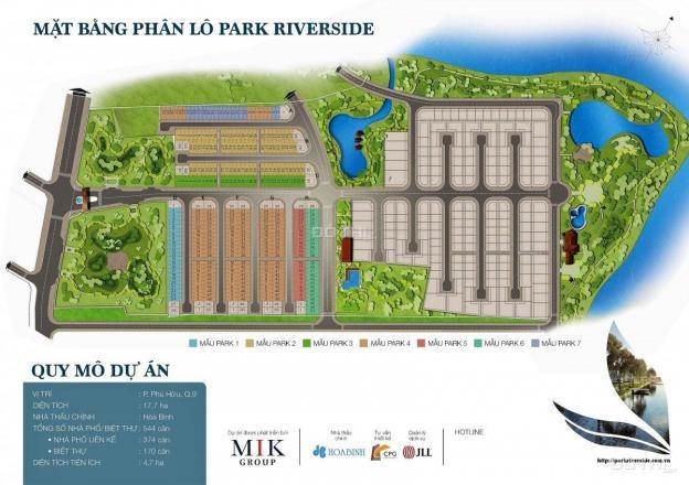 Chính chủ bán nhà phố Park Riverside Premium diện tích 5x15m, giá 5.5 tỷ view công viên 12874601