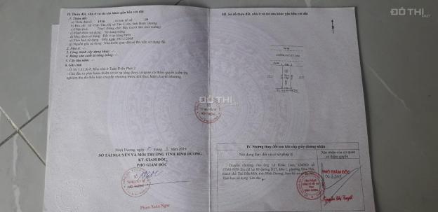 Chính chủ cần bán gấp lô đất Vĩnh Tân VSIP 2, thành phố mới Bình Dương 12888790