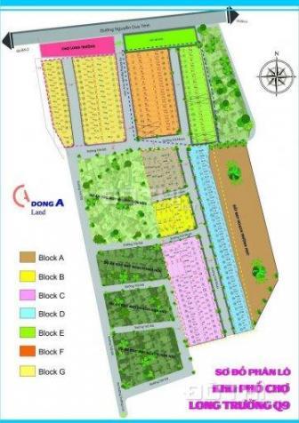 Bán lô đất 60m2 ngay chợ Long Trường, Long Trường, Q9, SHR, giá 30tr/m2, XDTD 12893085