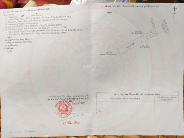 Chính chủ cần bán nhà vị trí đẹp, giá rẻ tại huyện An Biên, Kiên Giang 12898378