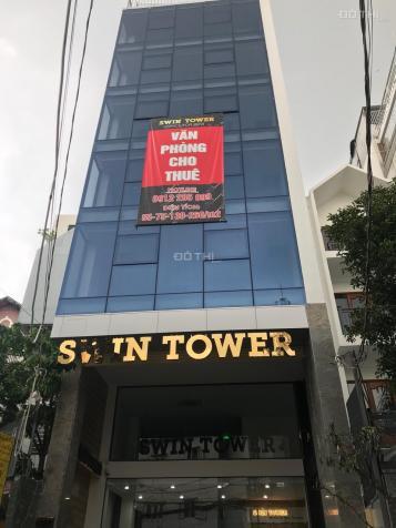 Cho thuê văn phòng mới 100% tầng trệt và lửng tòa nhà Swin Tower MT số 20F Lam Sơn, P2, Q. Tân Bình 12899834