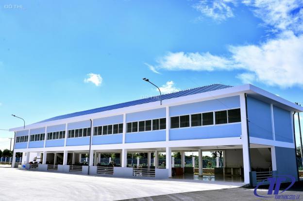 Chính chủ bán kho xưởng mặt tiền quốc lộ 1A, gần chợ bình chánh. Gần khu công nghiệp. Sổ hồng riêng 12903332